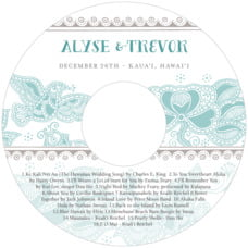 Sea & Sky custom CD/DVD labels