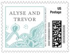 Sea & Sky small postage stamps