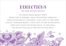 custom enclosure cards - plum - sea & sky (set of 10)