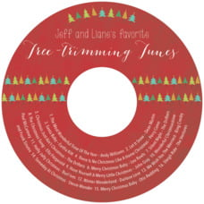 Christmas Tree cd labels