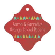 Christmas Tree fancy diamond hang tags