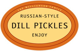 Library large oval labels