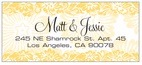 Leilani designer address labels