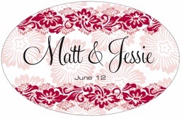 Leilani large oval labels