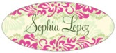Leilani oval labels