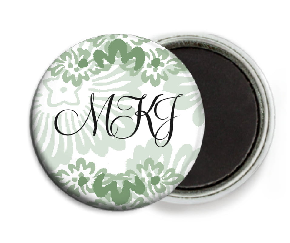 custom button magnets - sage - leilani (set of 6)