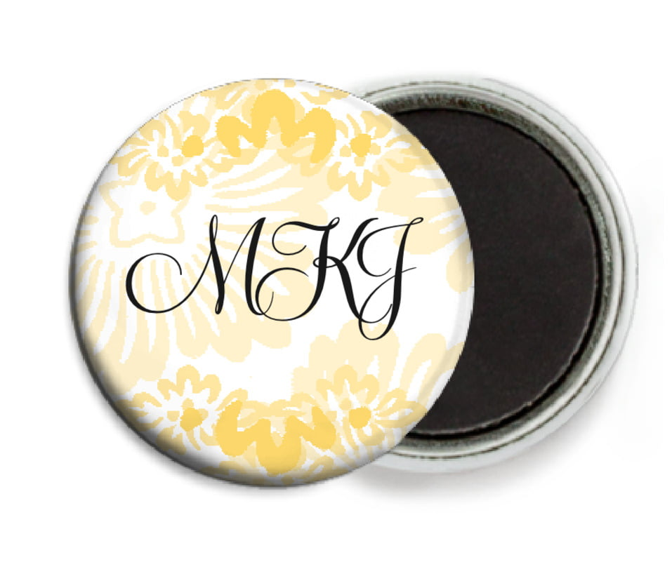 custom button magnets - sunburst - leilani (set of 6)