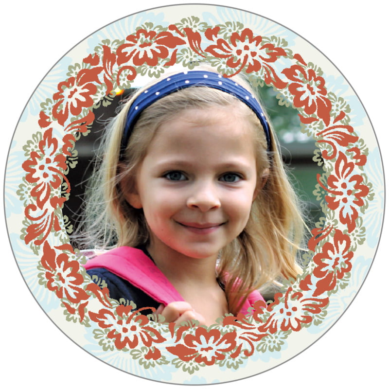 circle photo labels - spice & ocean - leilani (set of 20)