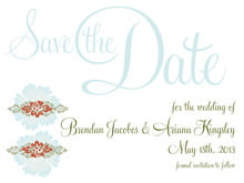 custom save-the-date cards - spice & ocean - leilani (set of 10)