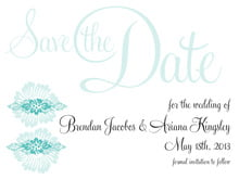 custom save-the-date cards - aruba - leilani (set of 10)