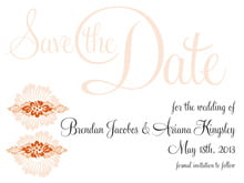 custom save-the-date cards - spice - leilani (set of 10)