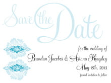 custom save-the-date cards - sky - leilani (set of 10)