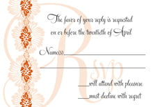 custom response cards - spice - leilani (set of 10)
