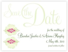 Leilani save the date cards