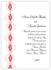Leilani invitations