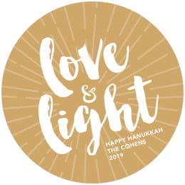 Love & Light round coasters