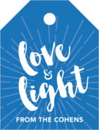 Love & Light small luggage tags