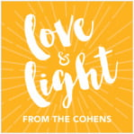 Love & Light square labels