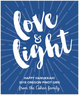 Love & Light large labels