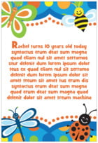 Lil' Bug text labels
