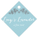 Lucky in Lace small diamond hang tags