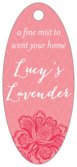 Lucky in Lace small oval hang tags
