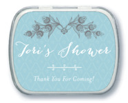 Lucky in Lace bridal shower mint tins
