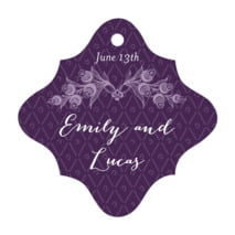 Lucky in Lace fancy diamond hang tags