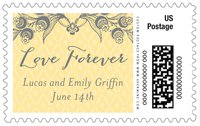 Lucky in Lace large postage stamps