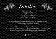 custom enclosure cards - tuxedo - lucky in lace (set of 10)