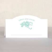 Lucky in Lace place cards
