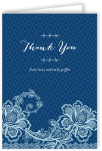 Lucky in Lace folding cards