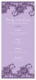 Lucky in Lace menus
