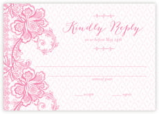 Lucky in Lace response cards