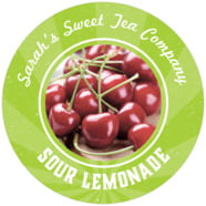 Lemonade Stand large circle labels