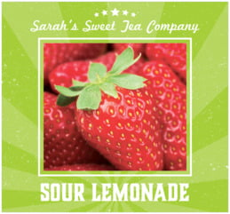 Lemonade Stand large rectangle labels