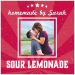 Lemonade Stand valentine's day labels