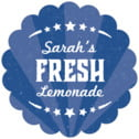 Lemonade Stand scallop labels