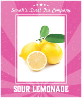 Lemonade Stand large labels