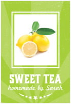 Lemonade Stand tall rectangle labels
