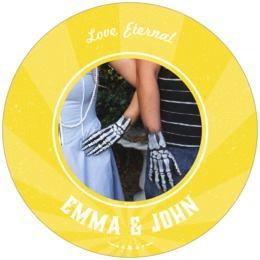 Lemonade Stand round coasters