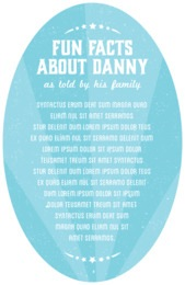 Lemonade Stand oval text labels