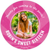 Lemonade Stand sweet sixteen coasters
