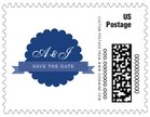 Luxe small postage stamps