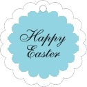 Luxe easter tags