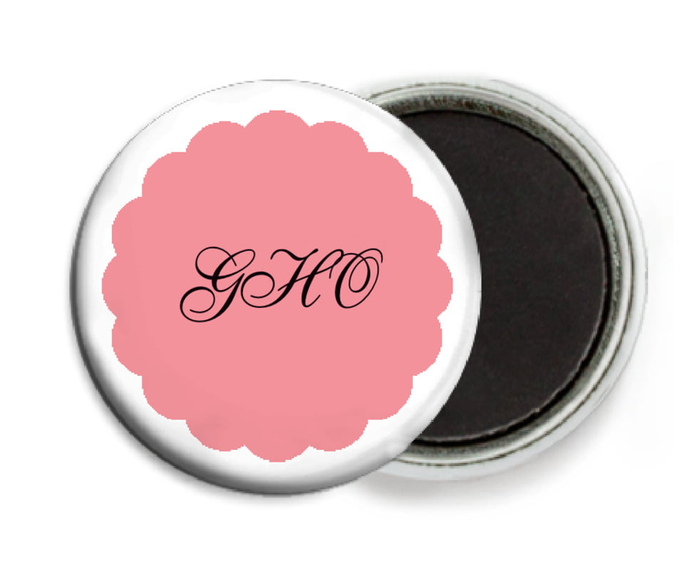 custom button magnets - grapefruit - luxe (set of 6)