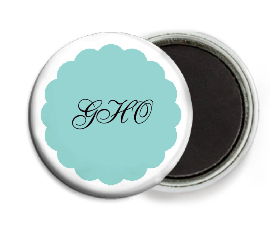 custom button magnets - aruba - luxe (set of 6)