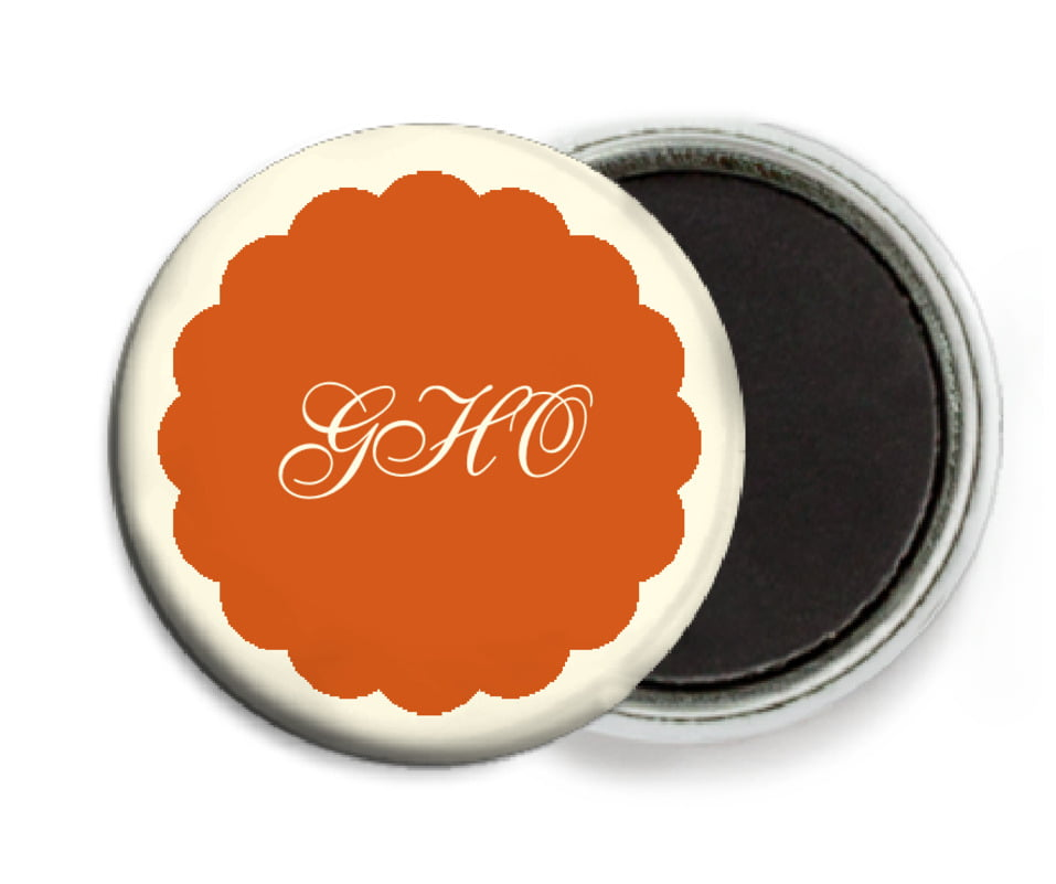 custom button magnets - spice - luxe (set of 6)