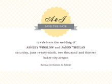 custom save-the-date cards - sunburst - luxe (set of 10)