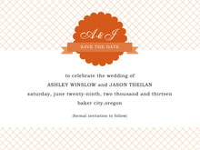 custom save-the-date cards - spice - luxe (set of 10)